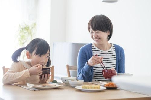 親子 食事