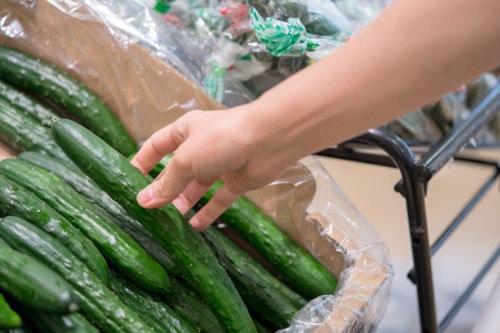 野菜 買い物