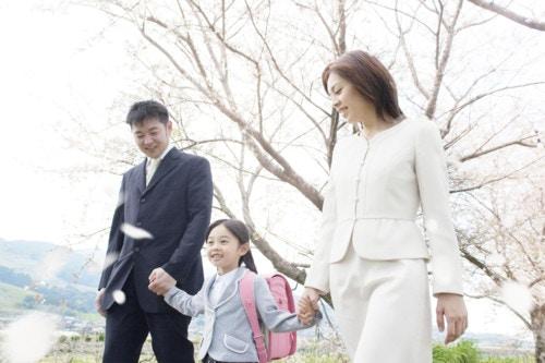 入学 ママ
