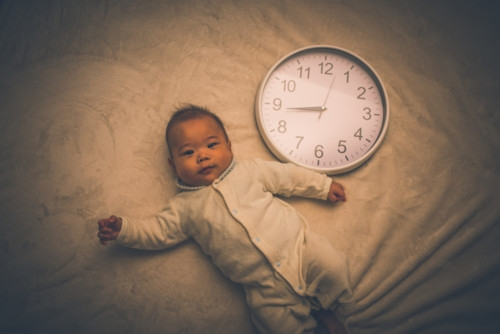 夜中 赤ちゃん