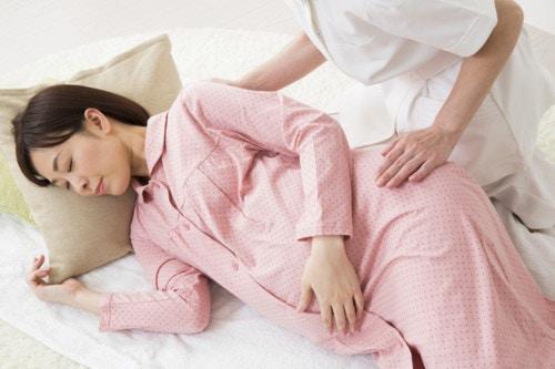 臨月 妊婦