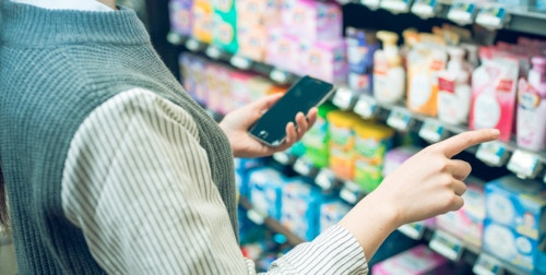 買い物 選ぶ スマートフォン