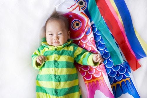 鯉のぼり 赤ちゃん