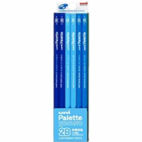 鉛筆ユニパレット2Bパステルブルー