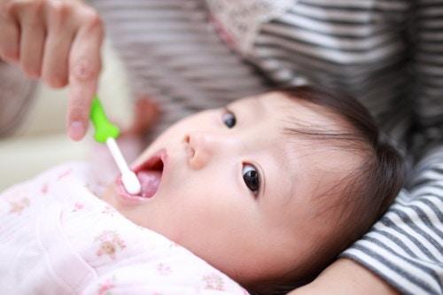 子供 口 歯磨き