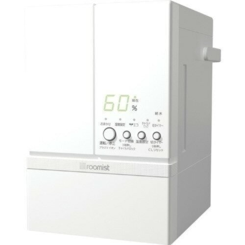 roomist スチームファン蒸発式加湿器 SHE60RD-W