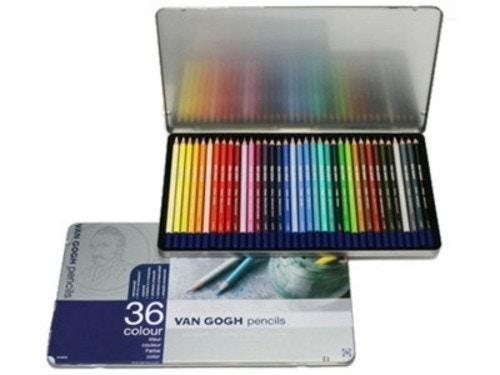 ターレンスジャパン ヴァンゴッホ 水彩色鉛筆 36色セット