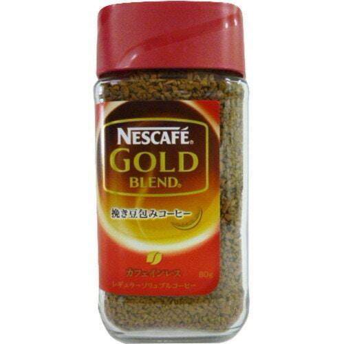 ネスレ日本 ゴールドブレンド カフェインレス80g