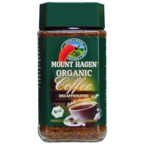 マウント ハーゲン オーガニック カフェインレス インスタントコーヒー 100g