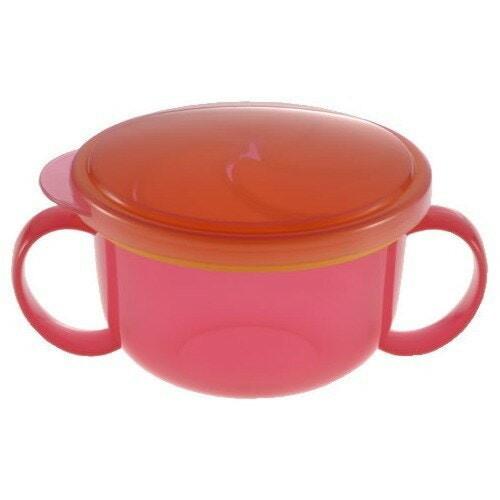 リッチェル こぼれないボーロカップ ピンク