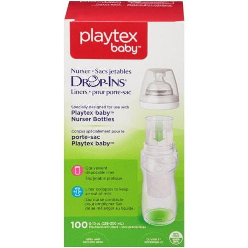 Playtex プレイテックス ドロップイン 使い捨て哺乳瓶パック