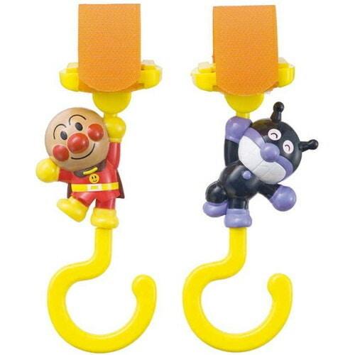 アンパンマン ベビーカー用フック(1セット)