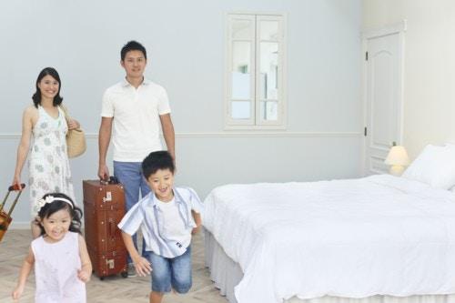 ホテル 家族