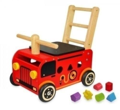 エデュテ ウォーカー&ライド・消防車 IM-87480