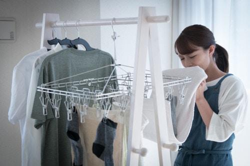 洗濯物 臭う