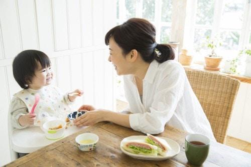 赤ちゃん ママ ご飯
