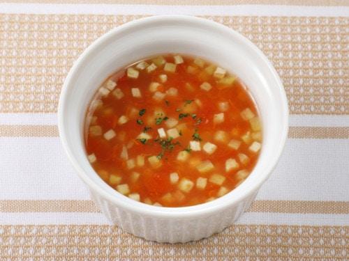 なすとトマトのスープ煮