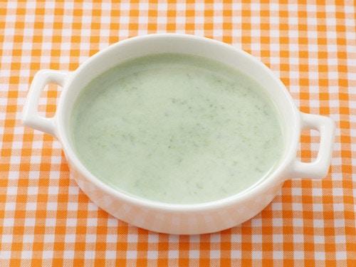 ホウレンソウのミルク煮