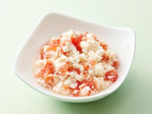 トマトの白和え