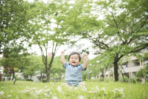 赤ちゃん 緑