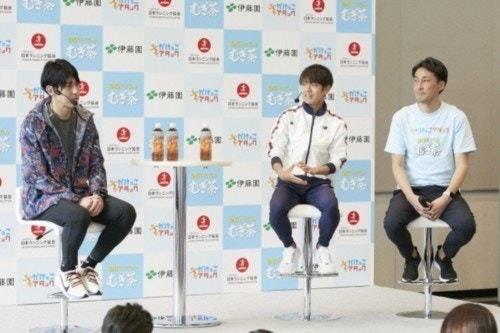 神野選手・秋本氏・小林氏によるトークセッション