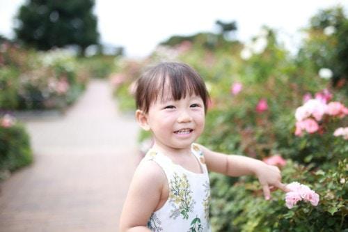 女の子 1歳 日本人 夏