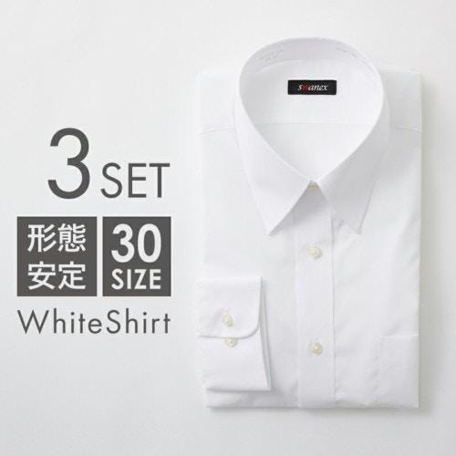 STYLE(スタイル) 「形態安定ワイシャツ 3枚セット」