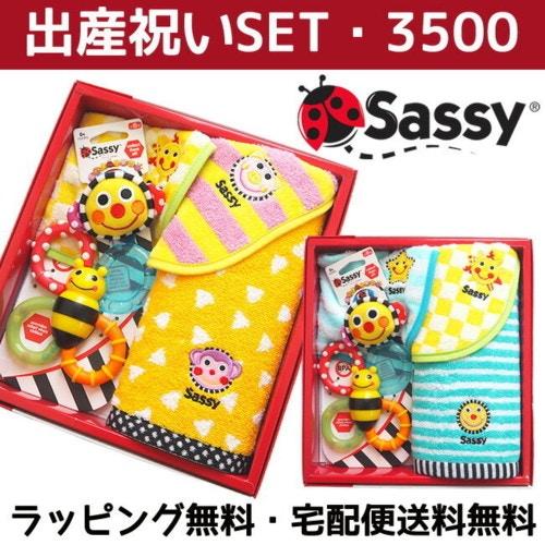 Sassy(サッシ―) 出産祝い5点セット