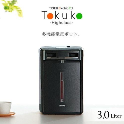 TIGER(タイガー) 電気ポット 蒸気レスVE電気まほうびん とく子さんPIM-A300