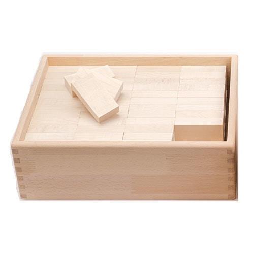 セレクタ社 BLOCKS 木箱レンガセット96カエデ SE0008