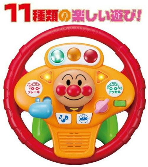 アガツマ アンパンマンミュージックでGO!のりのりドライブハンドル