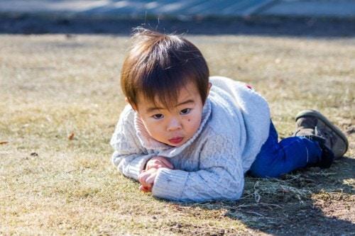 公園 赤ちゃん