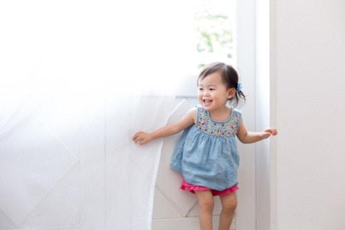 夏 幼児 日本人 笑顔