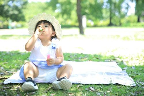 夏 遊ぶ 2歳