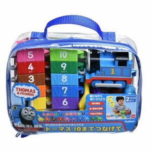知育玩具「トーマス 10までつなげて」