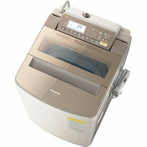 パナソニック タテ型インバーター洗濯乾燥機 (ブラウン) NA-FW100S3-T