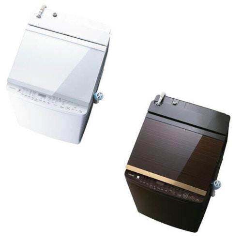 TOSHIBA タテ型洗濯乾燥機 (10.0kg) ZABOON(ザブーン)  AW-10SV7-W