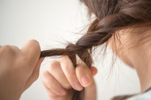女の子 髪