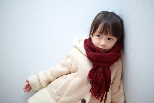 女の子 冬