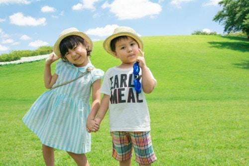 子供 夏休み 笑顔