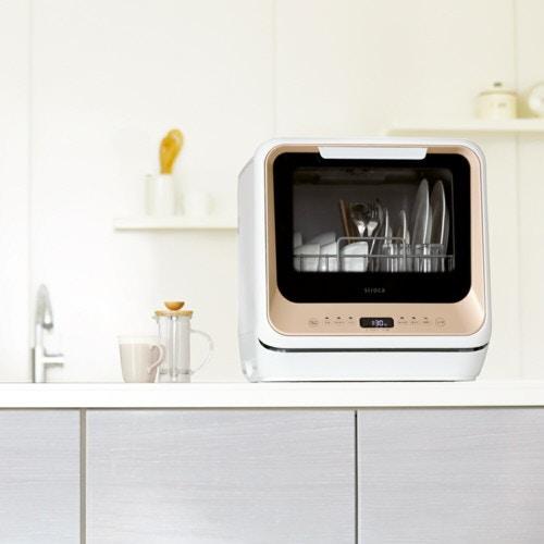 工事の要らない食器洗浄乾燥機 キレイウォッシュ