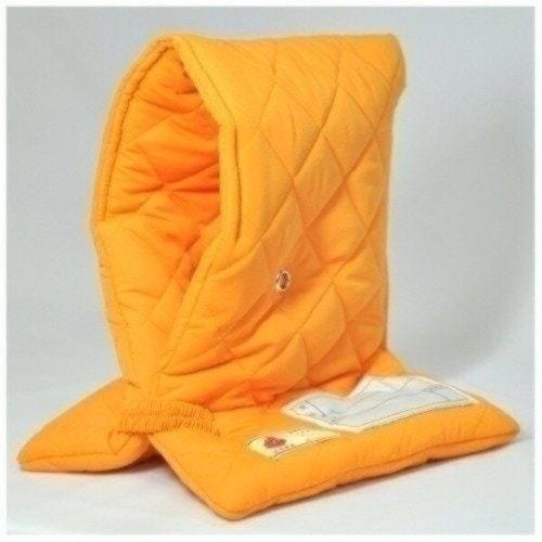 ファシル 防災頭巾 小学生用 プレミアム オレンジ 8069
