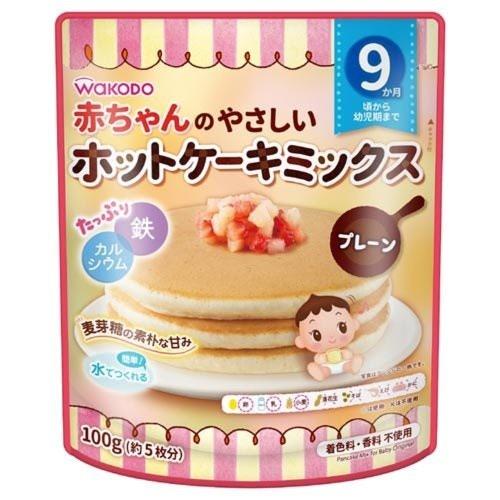 和光堂 赤ちゃんのやさしいホットケーキミックス
