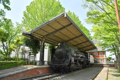 交通公園 蒸気機関車