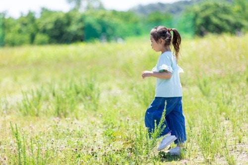 3歳 走る