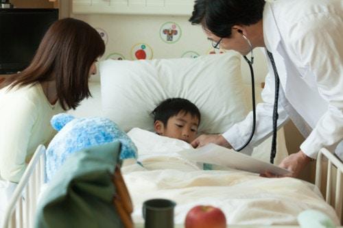入院 子供