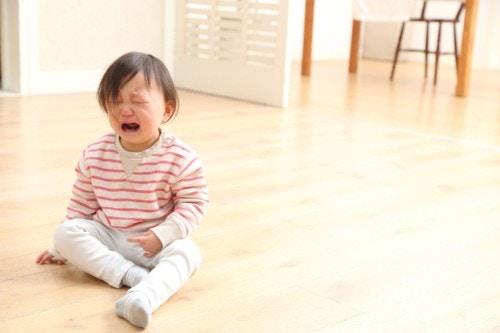 泣く 1歳