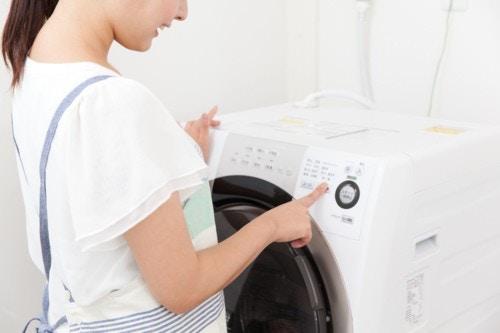 洗濯機 ママ
