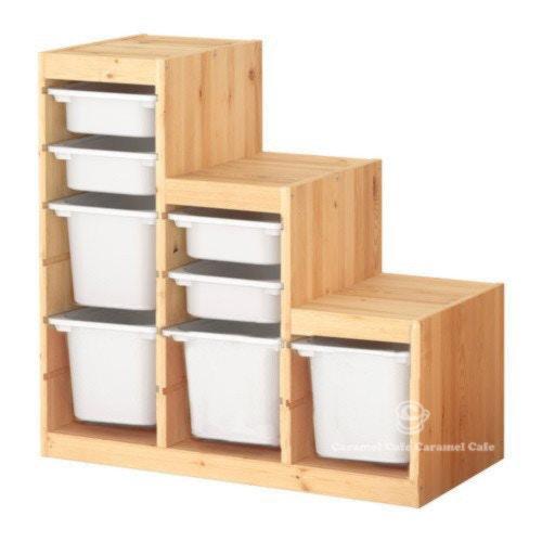 【IKEA】トロファスト 子供用家具・収納コンビネーション