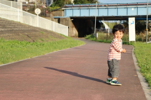 道路 2歳 子供